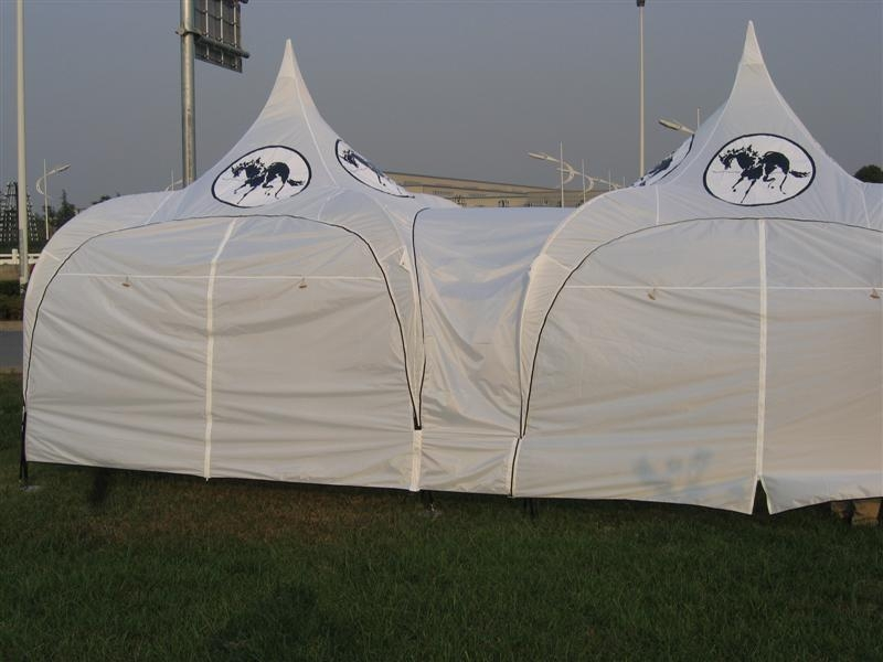 Connected tent